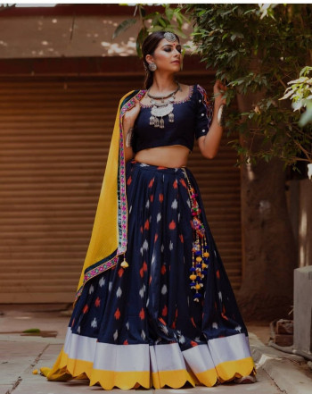Exclusive Blue Party Lehenga Choli
