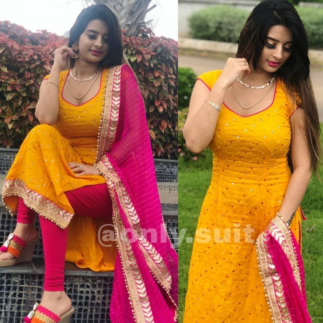 Exclusive Yellow and Red Suit
